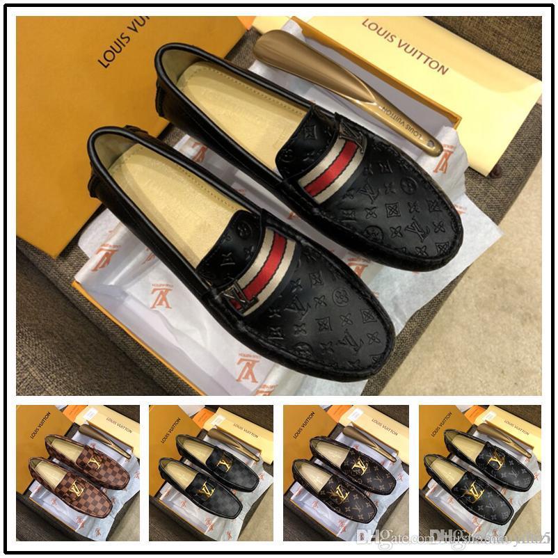 152f6e44 Zapatos De Vestir Para Hombres Zapatos De Cuero Para Hombres Zapatos De  Marca De Lujo Para Hombre Zapatos Formales Transpirables Elegantes Para  Hombres A ...