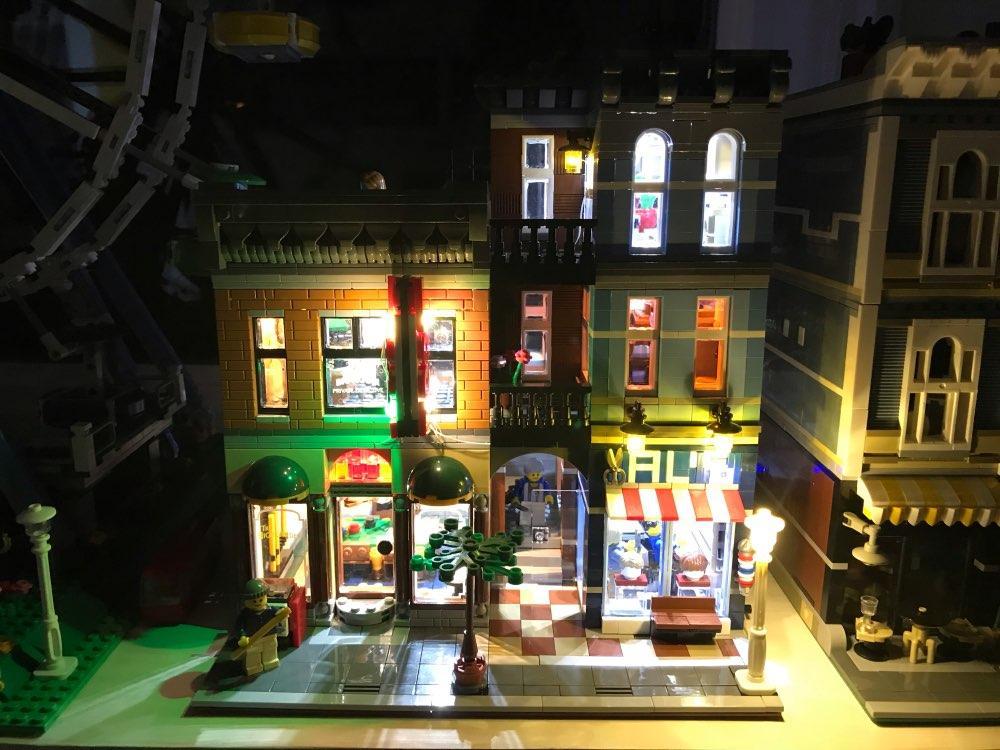 Großhandel led leuchten kit für lego und lepin detective bürogebäude