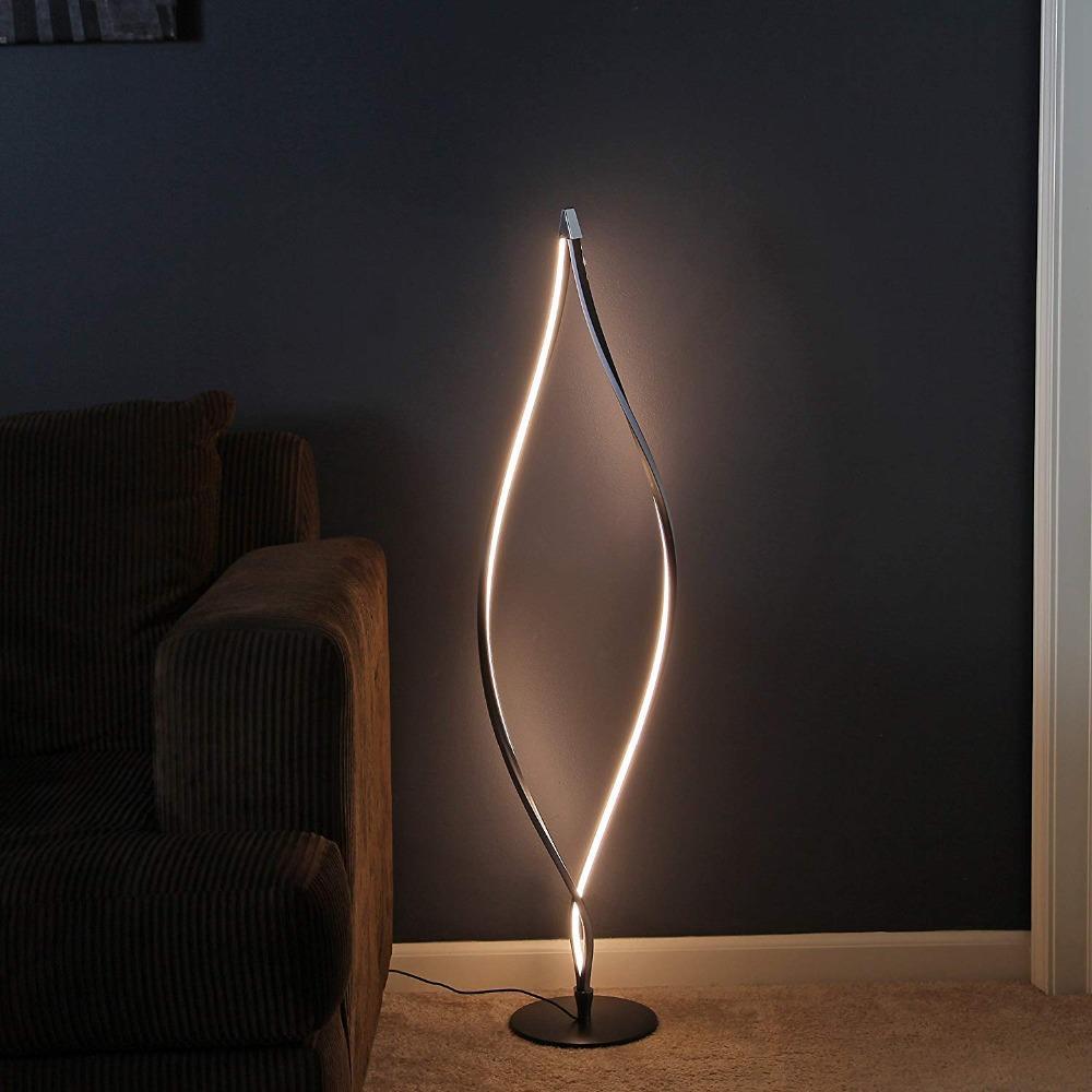 Grosshandel Moderne Led Stehlampe Wohnzimmer Stehleuchte Mit Easy