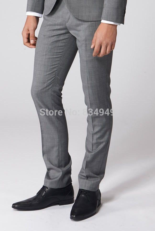 4a12f1a6008 2019 Slim Fit Dress Pants Men Pants Custom Made Business Trouses Men ...