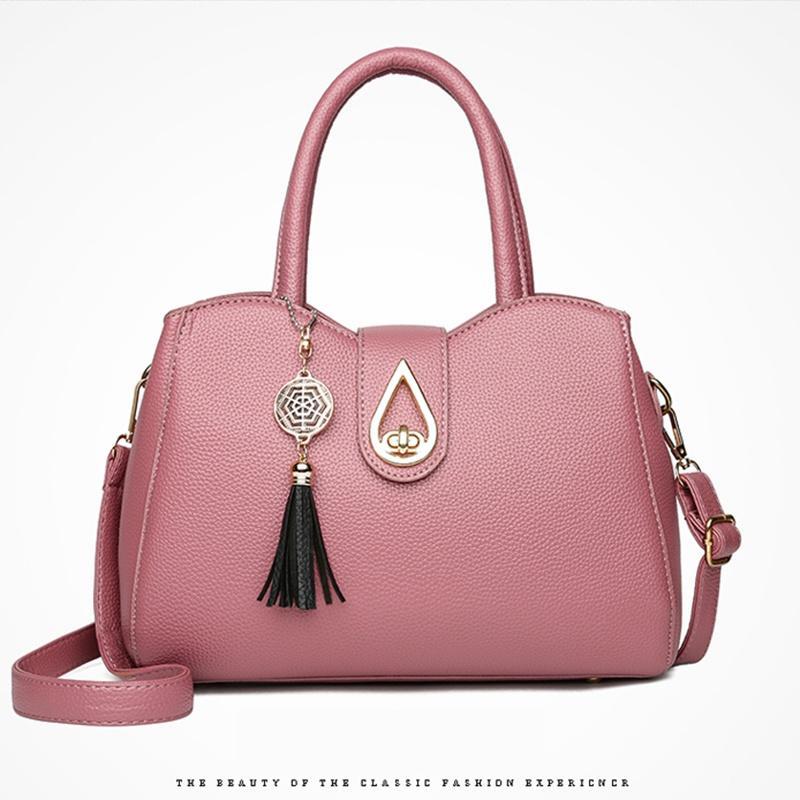 f677e2781a9c 2018 New Tide Female Bag Female Designer Bags Fashion Handbag Messenger Bag  Shoulder Bag Handbags High Quality PU Leather Cheap Designer Handbags Black  ...