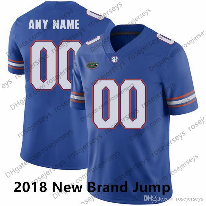 b9b178814ef 2019 NCAA Florida Gators  8 Trevon Grimes 96 Cece Jefferson 12 Van Royal  Blue White Orange 29 Dameon Pierce 2018 New College Football Jerseys From  ...