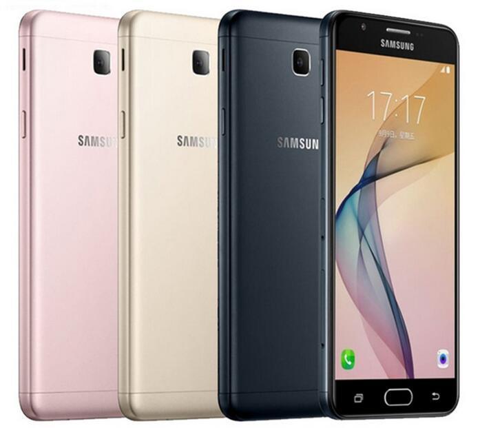 Yenilenmiş Orijinal Samsung Galaxy On7 2016 G6100 Unlocked Cep Telefonu Octa Çekirdek Ram 3 GB Rom 32 GB 5.5 inç 13MP Çift Sim 4G LTE