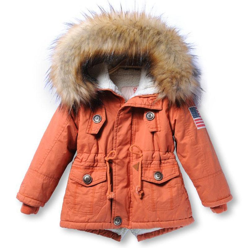 b26bd8cfacc0 Snow Wear Girls  Boys Winter Coat Children S Parkas Winter Jackets ...