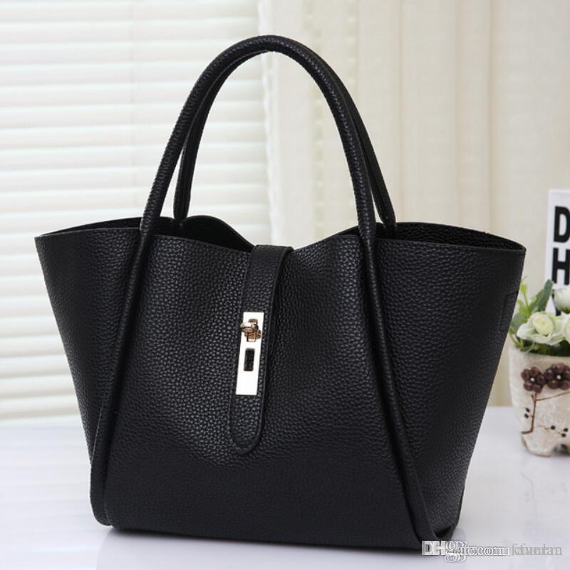 4d0e1e2565 Wholesale Handbags Women Shoulder Bags Leather Hobos Bag High Quality Tote  Bag Stylish Ladies Hand Bags Purse 2015 Bolsos Carteras Mujer Leather  Satchel ...