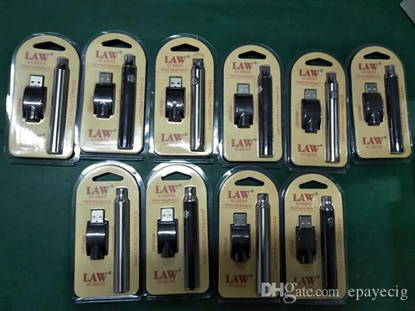 Paquete de ampolla de batería de precalentamiento de ley con cargador USB 1100mah gran capacidad 3.3V-3.7V-4.0V batería de voltaje variable con precalentamiento