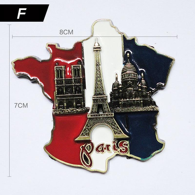 3d56f8469c9 Dropshipping 3D Magnet Souvenir Pairs Tower Whiteboard Decorative Creative  Cute Paris Scenic Tower Home Decor Fridge For Kids Magnets Just Magnets  Magnets ...