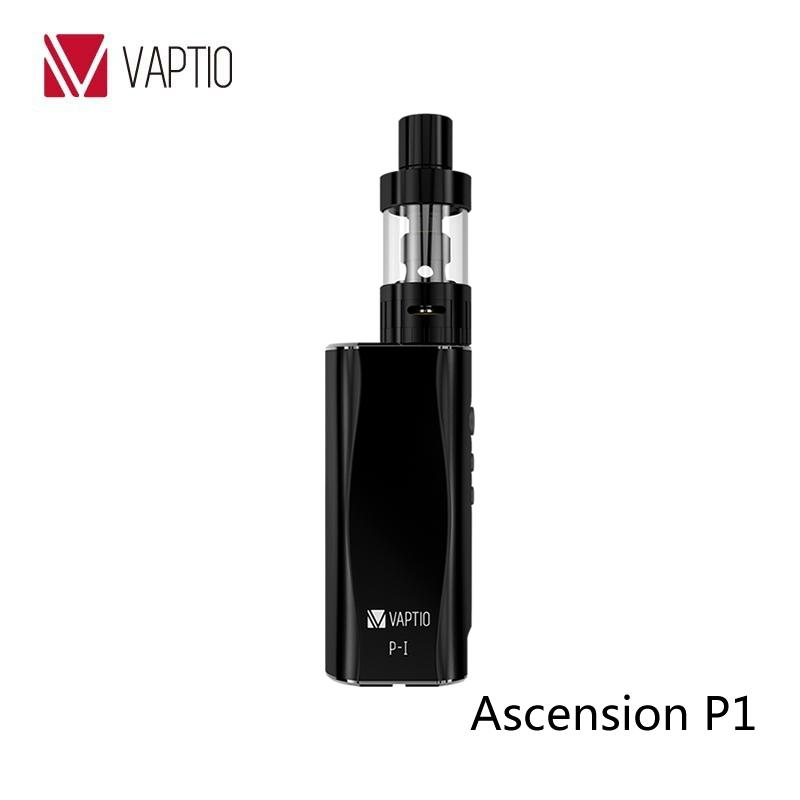 UK best seller 50W vaporizer kit Vaptio 50W vape mini box mod Vapito P1 starter kits wholesale 2.0mL OCC airflow control tank