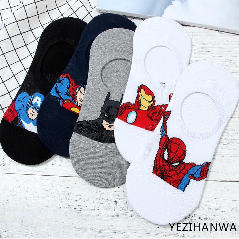 Großhandel DC Marvel Socken Eisen Man Cartoon Cosplay Herren Socke ...