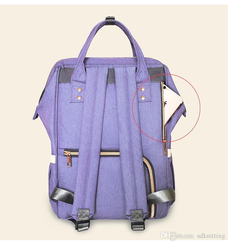 11 ألوان أكياس مومياء أكياس حفاضات أكسفورد النسيج ماء الأم الأمومة التمريض السفر المنظم تغيير الحقائب