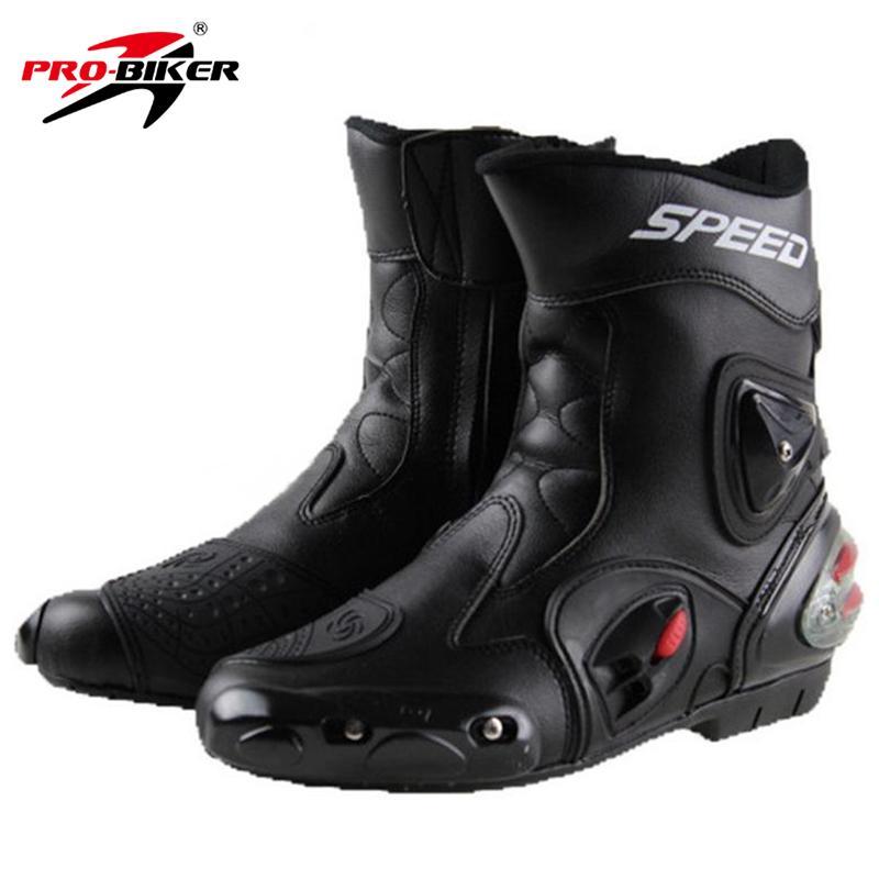 256876895c5901 Acheter Bottes Moto PRO BIKER SPEED BIKERS Bottes En Cuir Microfibre  Résistant À L'usure Bottes Motocross D'équitation Chaussures D'équitation  De $82.9 Du ...