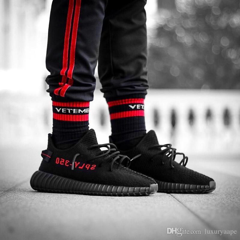 Vetements Socks Tide Brand Kanye West Socks Striped Stocking For Unisex Hip-Hop Skateborad Socks Cotton Athletic Stocking For Adult