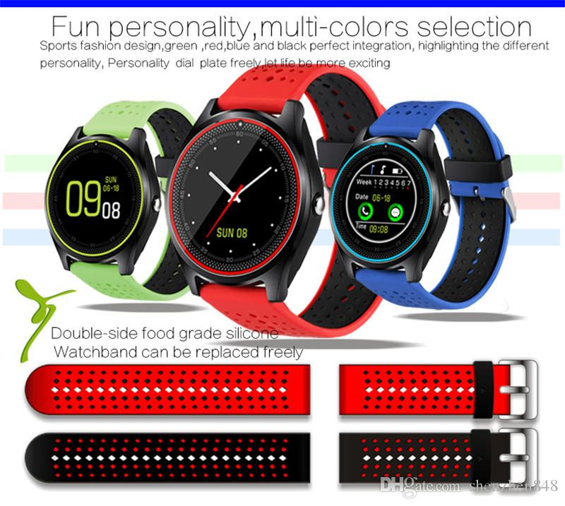 V9 smartwatch android V8 DZ09 U8 samsung smart watches SIM Intelligent mobile phone watch can record the sleep state Smart watch T-BS