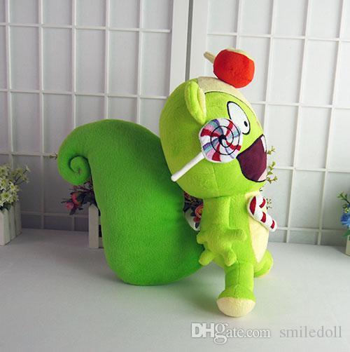 Happy Tree Friends HTF Nutty 15 inches Anime Green Stuffed & Plush Cartoon Doll
