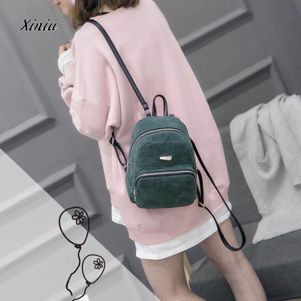 ea29fd4ca5 New Design Backpack Women Fashion Small Mini Leather Backpack Rucksack  Girls School Book Phone Shoulder Bag For Female Girls Book Bags Herschel  Backpacks ...