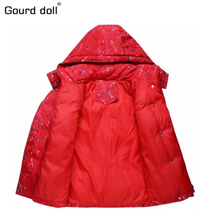 2017 Winter Children boys girls Clothing Sets 90% duck down jacket sets pants-jacket hooded baby boy winter jacket & coat s001