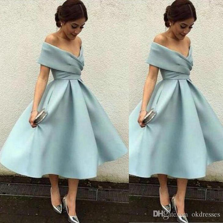 59de6da7b72 2018 Factory Direct Sale Special Occasion Dresses Graduation Homecoming  Dresses Princess Satin Zipper Tea Bength Casual Dresses DK023 Dress For  Girl Dress ...