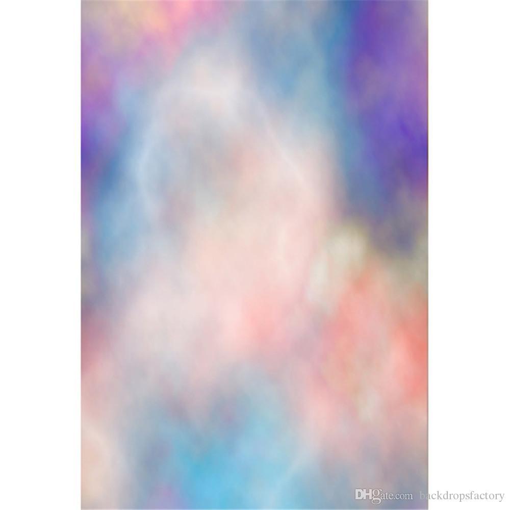 Acquista Pastello Blu Rosa Viola Acquerello Sfondo Fotografia