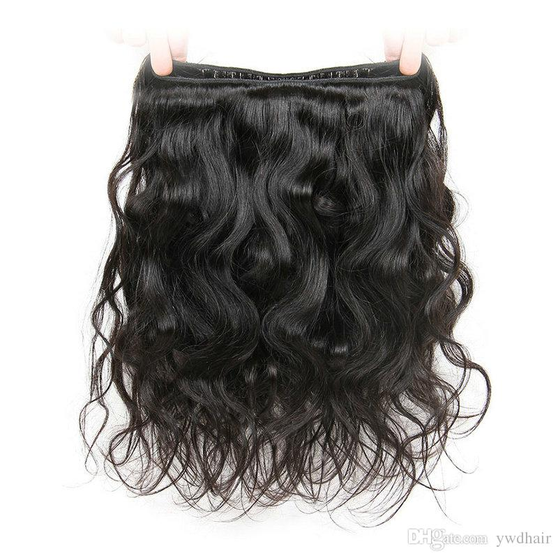 8A Grade Brazilian Body Wave 3 Bundles for Full Head Virgin Cheap Brazilian Human Hair Weave Extensions Unprocessed Wavy Hair Can be Dyed