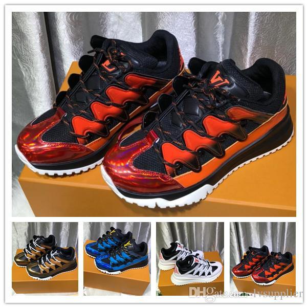 33e3f559b5010a Newest Womens Luxury Brand Designer Platform Zig Zag Sneaker Men ...