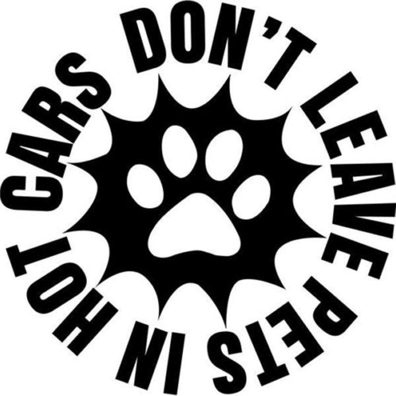 2019 Dont Leave Pets In Hot Cars Home Decor Car Truck Window Decal