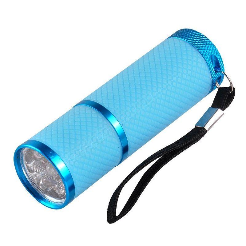 Mini Nail Dryer LED Torcia portatile gel unghie Asciugatrice veloce Cura unghie Gel unghie Strumento manicure