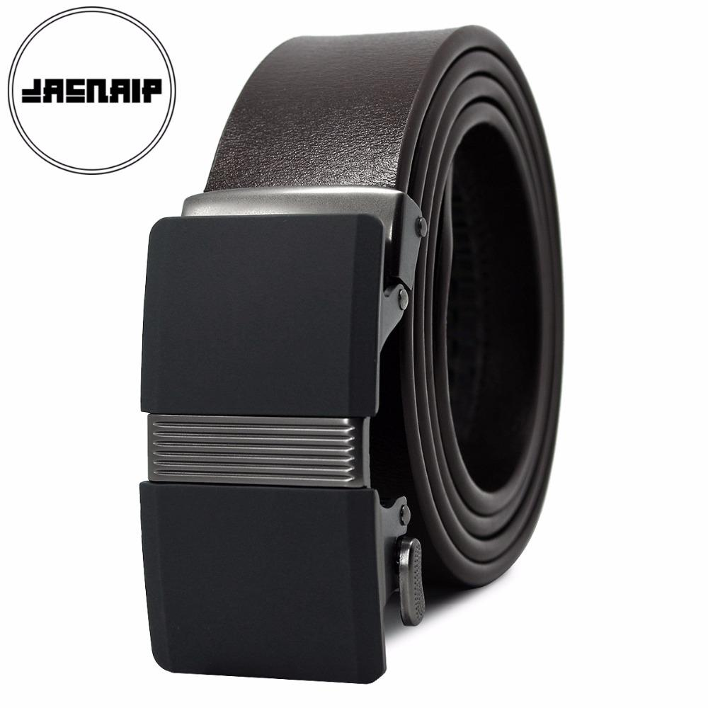 jacnaip top brand blets for men automatic buckle male genuine