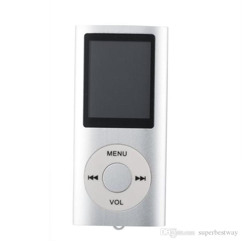 NUOVO 4th Genera MP3 MP4 Player Slim 4TH 1.8