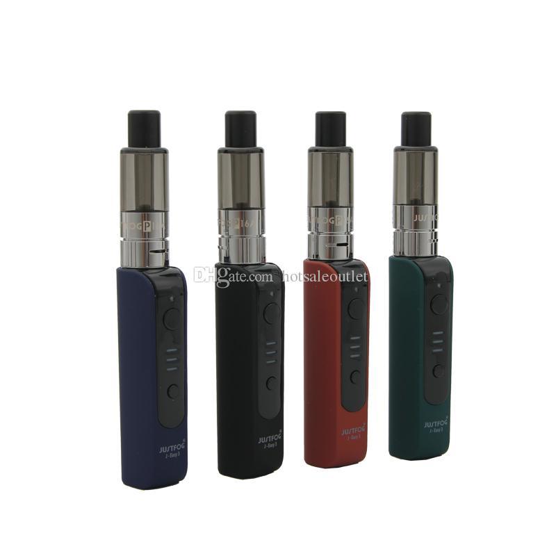 Authentique Justfog P16A Kit Kit de démarrage avec stylo vape avec batterie 900mAh Kit réservoir E-cigarette 2 ml 100% d'origine