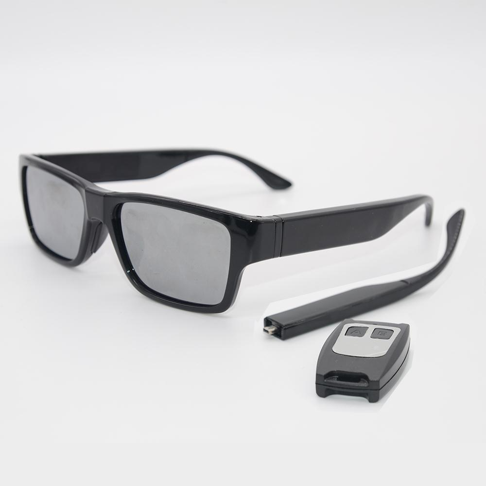 87f87dbe2478e Smart Glasses Camera No Hole Sunglasses Touch Control And Remote Control  Recorder DVR Eyewear Camcorder 1080P Built In 16GB Two Battery Leg Smart  Glass ...