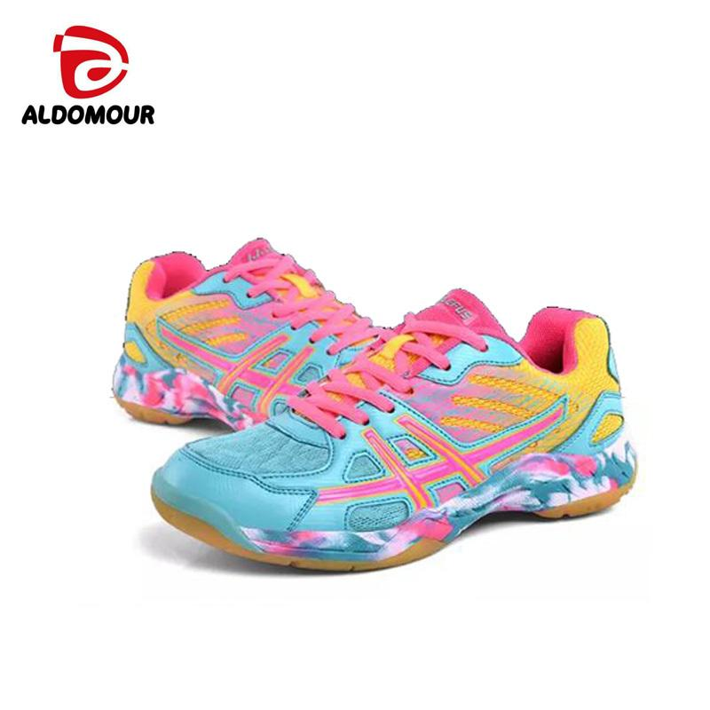 Zapatillas Amortiguación Con 2018 Sports Unisex Aldomour Deporte Para Mujer Voleibol Nuevo 2019 Light Transpirables Zapatos De xWBroedC