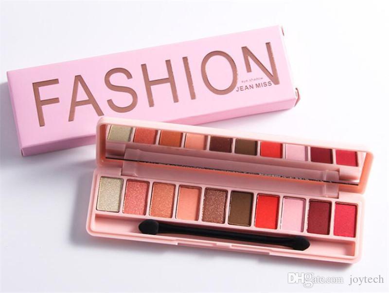 es paleta de sombra de ojos Shimmer Mate Sombra de ojos Paleta de maquillaje Sombra de ojos Maquillaje Natural Set de cosméticos con un cepillo envío gratis