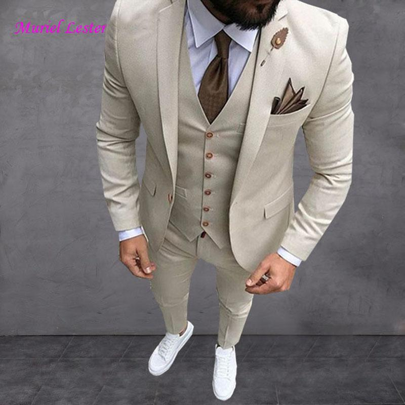 2019 2018 Latest Coat Pant Designs Wine Red Men Suit Slim Fit Tuxedo