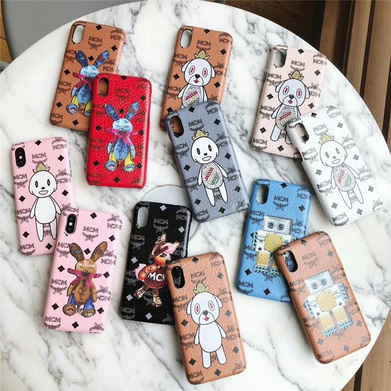half off 0b068 f9da2 MM Painted Phone Case For Iphone XS MAX Phone Case for Iphone Brand  Designer Phone Case for iPhone X 678 Plus With Box