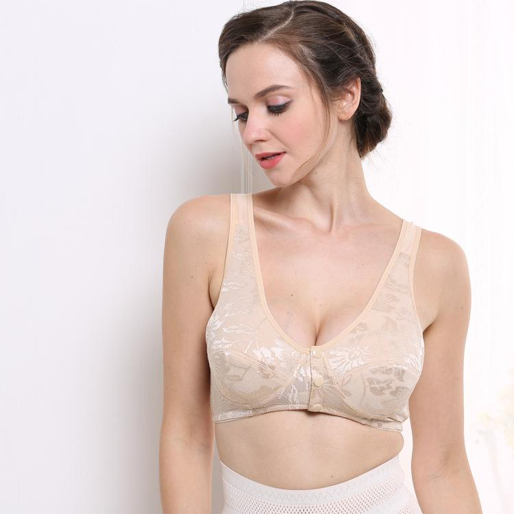 3509659e27 2019 Cotton Front Open Maternity Nursing Bra Padded Push Up Breast Feeding  Bras For Pregnant Women Pregnancy Lingerie Sport Underwear From Englishi