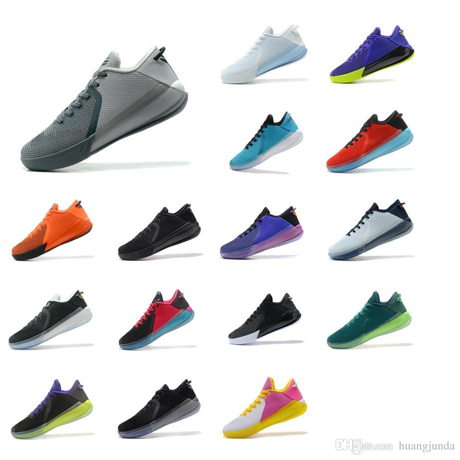 3ceb63108202 2019 Cheap Mens Kobe Venomenon 6 VI Basketball Shoes Black White Grey Blue  Red KB Venom Mentality Low Cut Sneakers Boots Tennis For Sale With Box From  ...