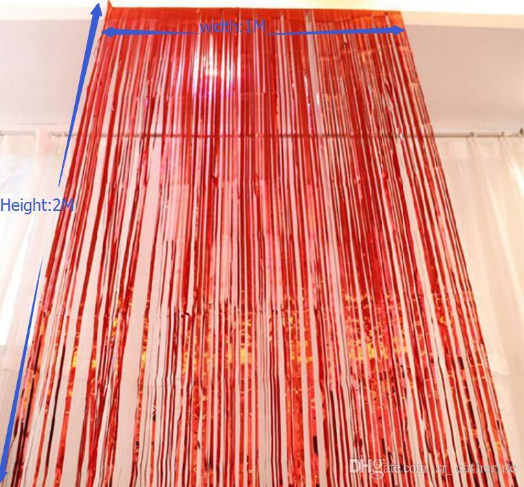 DHL Düğün Doğum Günü Partisi Centerpiece Arka Plan Dekorasyon Püsküller Noel Noel Partisi Için Duvar Tırmanmak Püsküller Şerit Perde Püsküller