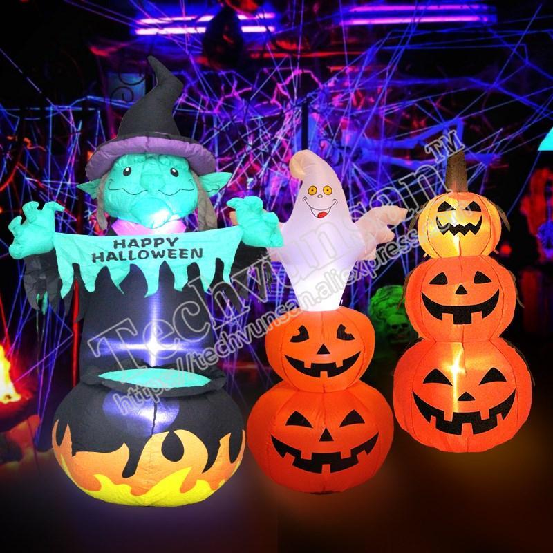 Acquista Decorazioni Di Halloween Decorazione Decorata Zucca Gonfiabile  Disposizione Di Barre E Scene Di Medicazione A  91.56 Dal Suozhi1993  0b76eadbbb46