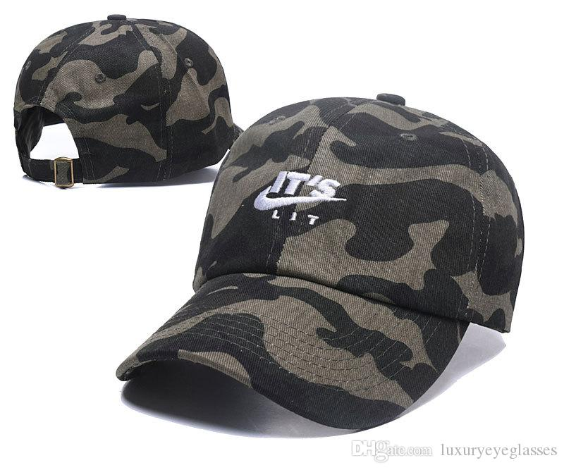 e4f5d45102a New Fashion Camo Fitted Baseball Caps Personalized Embroidered Hats ...
