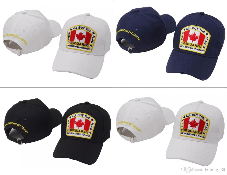 Compre D2 ICON Hip Hop Gorra De Béisbol Snapback Hats Diseñador De La Marca  Canada Flag Style Sombrero Para Hombres Mujeres Gorras Casquette Sombreros  Letra ... c143533e74c