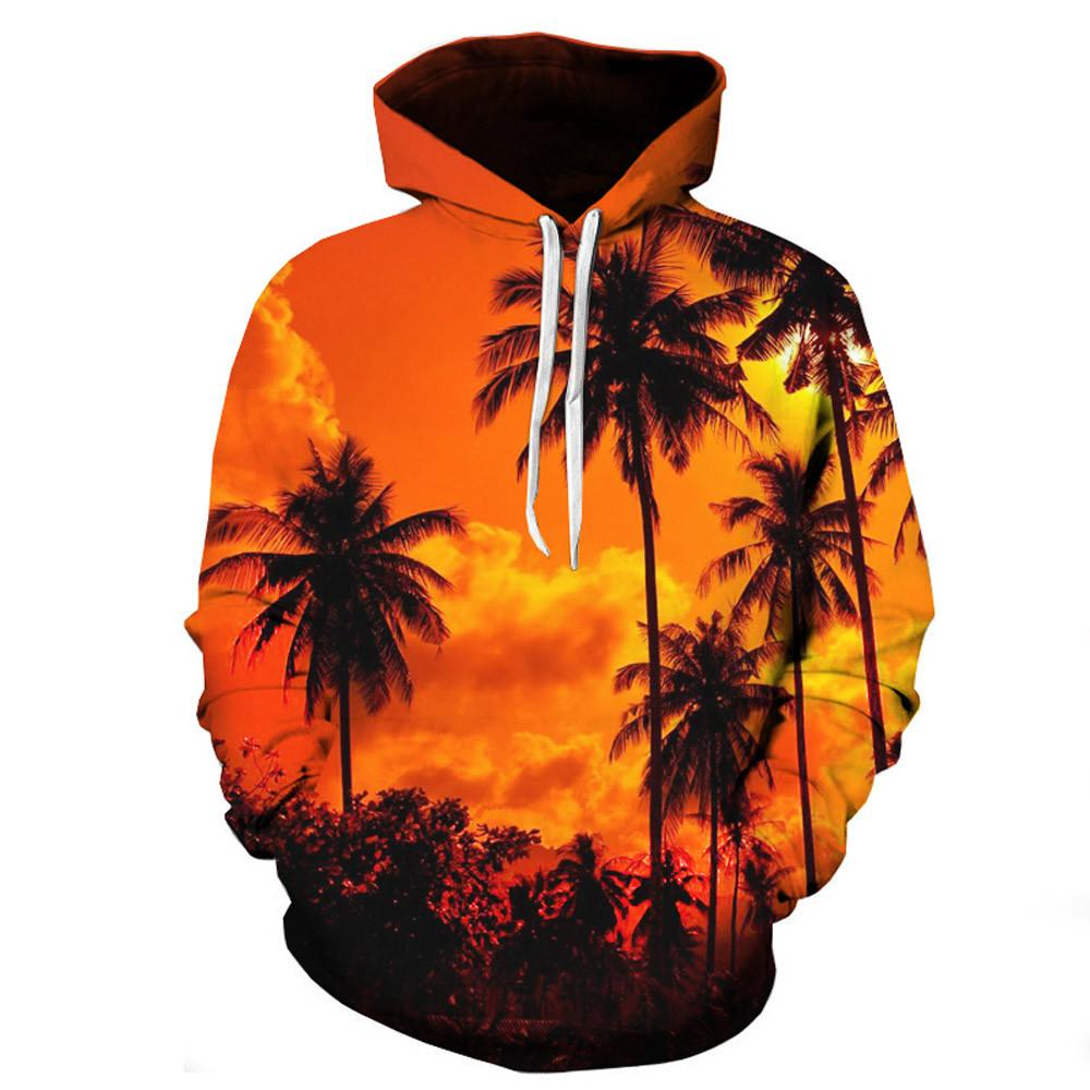 2019 5xl Brand Male 3d Hoodies Pullover Autumn Halloween Sweatshirt