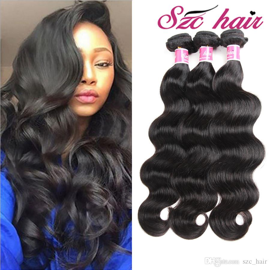 Manufacturer Wholesale Hair Brazilian Virgin Human Hair Extensions