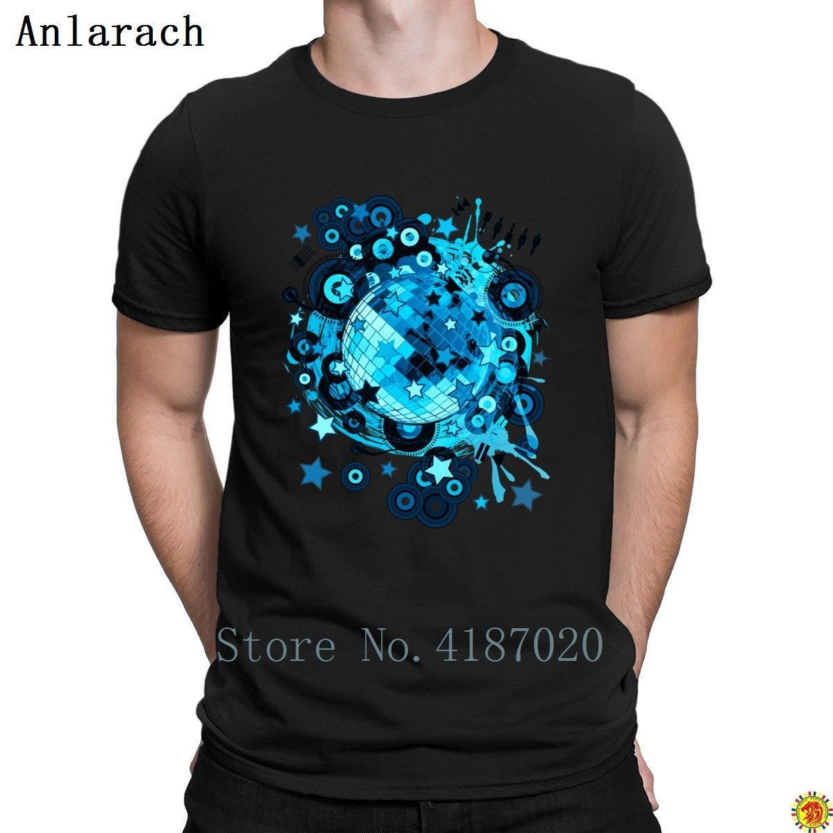 Grosshandel Disco Ball T Shirts 100 Baumwolle Naturliche Charakter