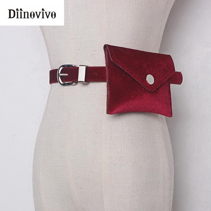 ... Moda Mujer Bolso De La Cintura De Cuero Coloridos Paquetes De La Cintura  De Terciopelo Cinturón De La Cadera Bum Fanny Pack Lady Bolsa Bolsa De  Teléfono ... b263ccba17ea