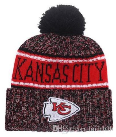 2019 2019 Team Kansas City Beanies KC Caps Pom Sports Hat Men Women 32  Teams All Caps Knitted Hat Top Quality Hat More 5000+Styles From Lindab2b 829052b9de6f
