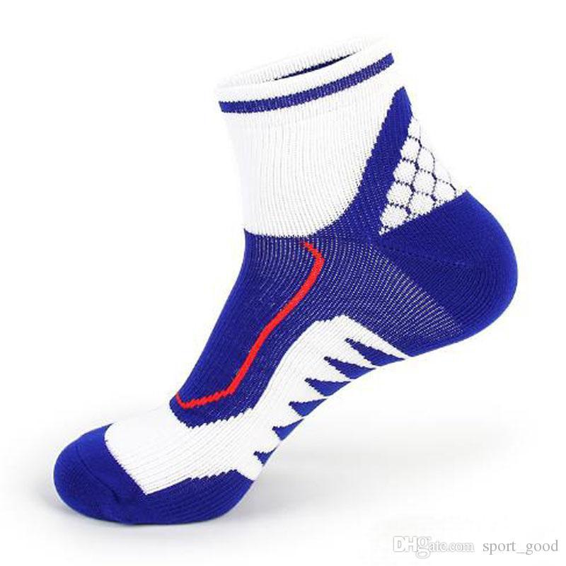 Новые мужские короткие трубки утолщение полотенца чистый хлопок профессиональный открытый работает бадминтон спортивные носки дезодорант на ноги восхождение run