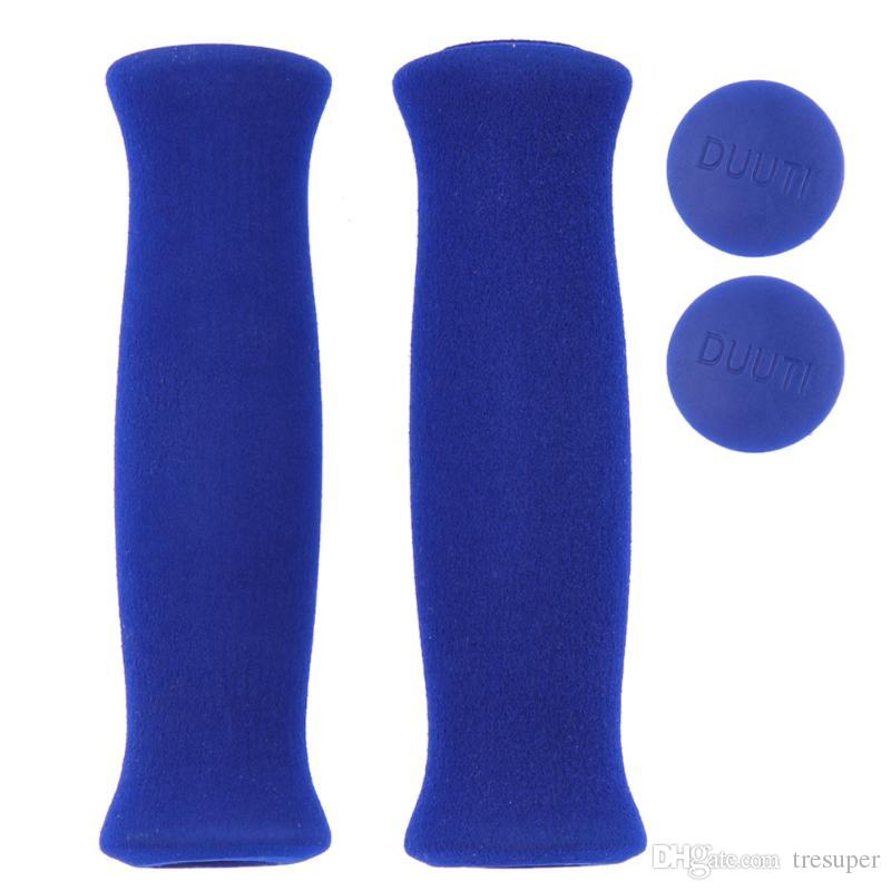 Soft Bicycle Handlebar Grips Cycling BMX /Road/ Mountain Bike Handles Soft Rubber Handle Bar Handle Grips