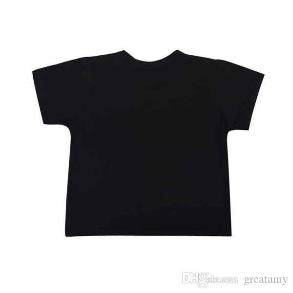 T-shirt stampata nuova di estate di modo della neonata infantile del bambino stampata maglietta + pantaloni lunghi / set bambini vestiti casuali dell'abbigliamento