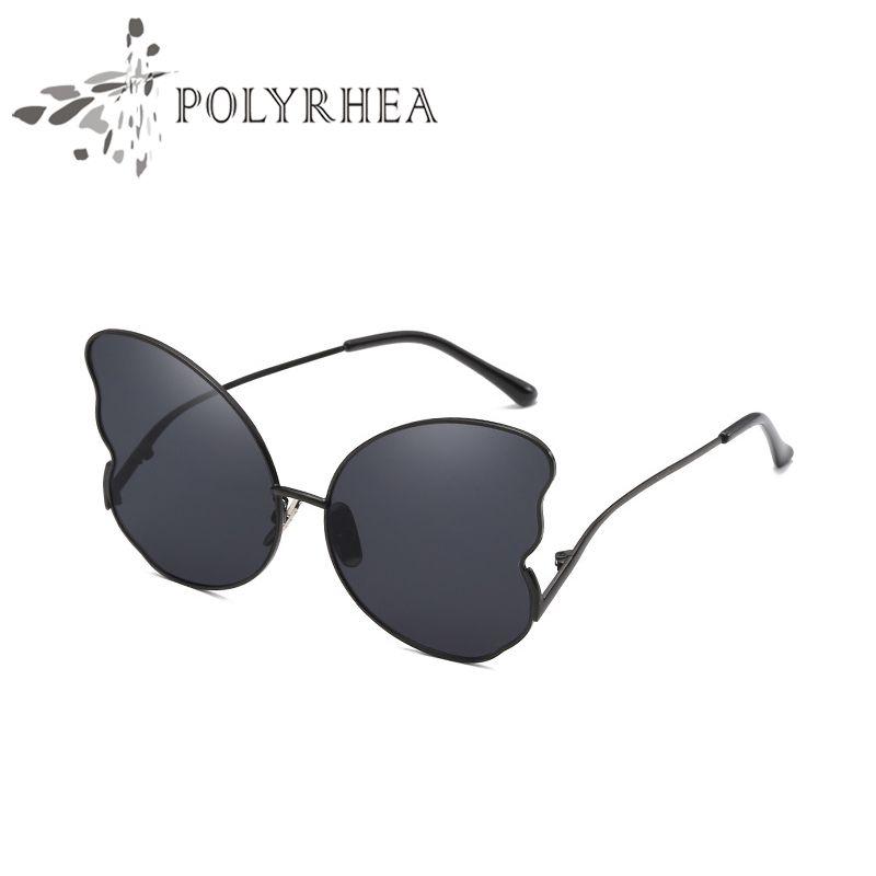 ce0da4d4eec6 Sunglasses Luxury Women Brand Designer Butterfly Sunglasses Frame ...