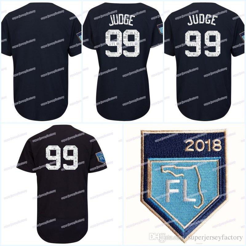 2019 99 Aaron Judge Men S 2018 Spring Training Jersey 18 Didi Gregorius 27  Giancarlostanton 24 Gary Sanchez 42 Rivera Baseball Jerseys From ... f89cb84eded